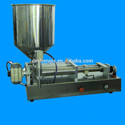 2015 hot sale horizontal type preumatic bee honey filling machine