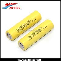 Best seller nominal voltage lithium polymer battery 18650 LGhe4 battery