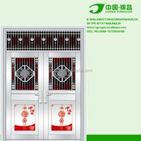 exterior security unbreakable door handles stainless steel
