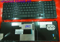 AF/AR/DM/GK/NR/NW/RU/SD/SP Laptop keyboard for HP DV1-3000,DV6-6000,HP 4520S