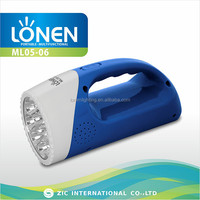LONEN ML05-06 portable light rechargeable lantern with radio