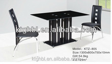 most popular of the highest quality glass table wooden legs of the dining table