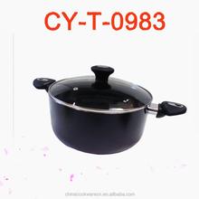 hotel or restaurant kitchen accessories high aluminium non-stick stockpot cooking pot