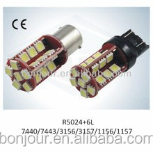T20 7440/7443 30SMD 5050 Car LED Turning/Brake Light High Lumen Top Quality