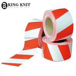 2015 red and white caution warning tape