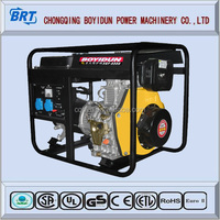 HOTSALE 5kw small portable electric diesel generator for sale
