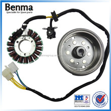 GN125-18 CLASS motorcycle magnetor assy electric generator coil rotor and stator
