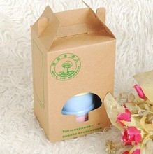 Kraft paper gift box bags food gifts for party favors Biscuits packing box