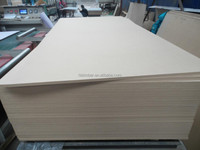 E1 18mm 2440*1220mm two side faced warm white melamine paper MDF BOARD