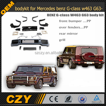 w463 G63 bodykit for Mercedes benz G-class w463 G63 08y-