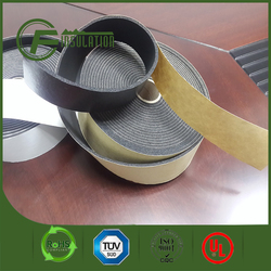 Nbr/pvc Closed Cell Thermal Insulation Rubber Foam Roll Tape With Self-adhesive