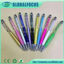 2015 Best price fancy 3 in 1 stylus pen with Diamond ball pen