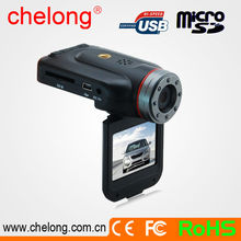 720p 120 degree viewing angle portable car in vehicle dash cameras