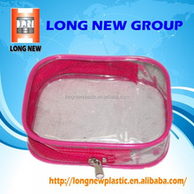 E waterproof viny clear pvc tote bag