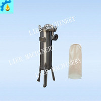 small Stainless Steel Printing Ink bag Filter machine