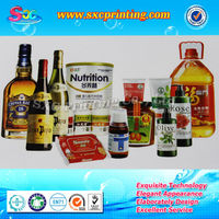 Factory wholesale custom beer can labels , beer tin label , beverage can label