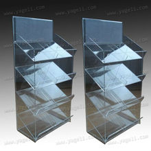 4 layers fashionable 2012 large Acrylic Cabinet