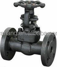 API OS&Y rising stem forged stainless steel gate valve