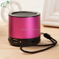 10w mini bluetooth speaker stereo with sd hands free for 2015 hot sale products