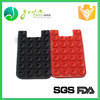 Factory price silicone fashion card holder , silicone credit card holder , mobile phone card holder