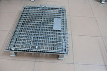 Evergreat registered brand collapsible steel wire mesh cage/wire mesh container