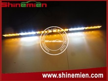 """24 LED 26.5"""" White Amber Emergency Traffic Advisor Flash Strobe Light Bar"""