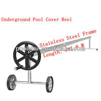 In-ground Swimming Pool Covering Roller P1820 w/ss Frame for Aluminium Tubes wax hot cheap ab roller