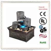 battery operated indoor water fountain gift and craft