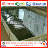 factory price Stainless Steel Sheet/plate 201/410/430 2B/BA Surface price on alibaba