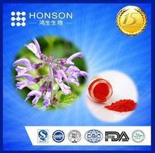 herbal plant extract danshen root powder Tanshinone IIA 1%-98% HPLC