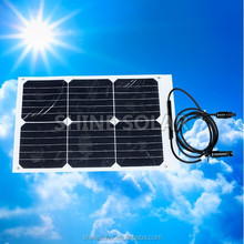 20% high efficiency sunpower poly solar module 365W 48V for solar system