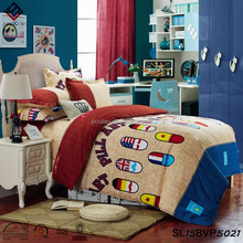 High fashion bedding sets for school bed popular bed sheet kid school bed Merry Christmas
