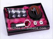 Popular Gift Watch Set Include Watch+Tie+Belt+Key Chain GFAA8021
