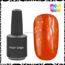 HNM # L016 2016 trend hot nail art glitter colored uv gel polish oem 5 8 10 12 15 ml 1kg - 5kg