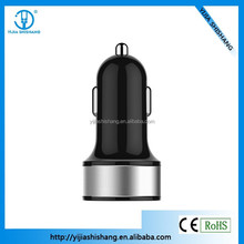 CE ROHS Approved Bullet Dual 2 Port Mini USB Car Charger Adaptor 3.1A