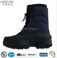2014 new design men snow boots, lace up work shoes cheap snow boots