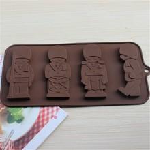 chocolate color animal shape cake mold/mould