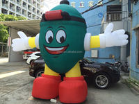 2015 giant inflatable egg model Customized inflatable big green egg inflatable egg cartoon model