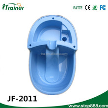 New 2014 Large size Pet Dog Cat Plastic Single Dish JF-2011 Water Bowl Feeder