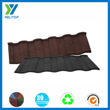 Africa metal roofing tile/Ecological stone coated roof tiles