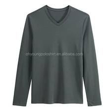 100%cotton T Shirt ,men's long- Sleeve Shirt,OEM Service Supply Type T-Shirt
