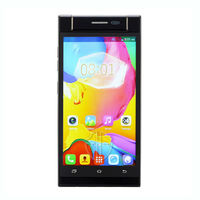 HG china 5inch dual sim card dual core slim and small mobile phones