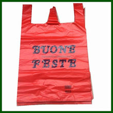 t-shirt carrier bag NO.561 plastic thank you t-shirt bags