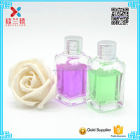 wholesale 30ml home fragrance clear square essential oil bottle