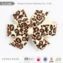 Fashion Design Cute Style hair clips with ribbon bow hair bow hairpins for sales