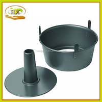 2-Piece Non-Stick Angel Food Pan with Feet ,high quality baking pans hot sell ovenware