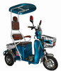 Three wheel electric scooter