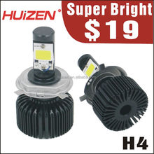 car led headlight $19 H4 CE/E-Mark/DOT factory direct led car light auto led head lamp