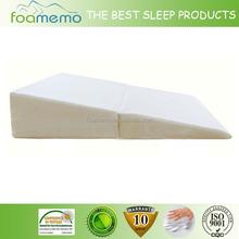 wedge folding foam pillow wedge fold memory foam pillow Bed wedge folded pillow