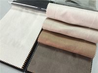 100% polyester sofa chair fabric /Most popular multipurpose faux suede fabric